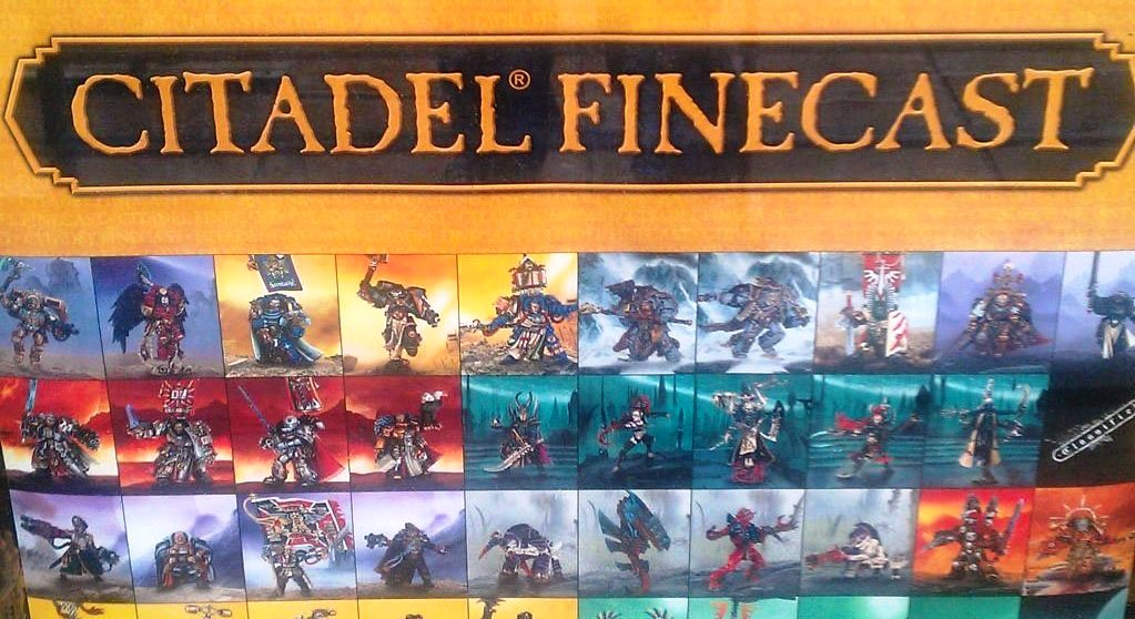 Citadel Finecast Resin