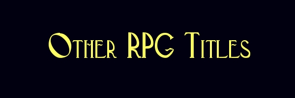 Other Roleplaying Games