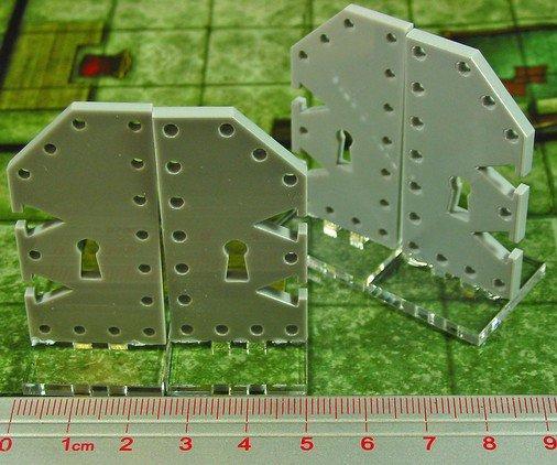 Tokens & Markers: Large Metal Door Markers (4)