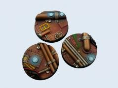 Battle Bases: Pipeworks Bases, Round 50mm (2)