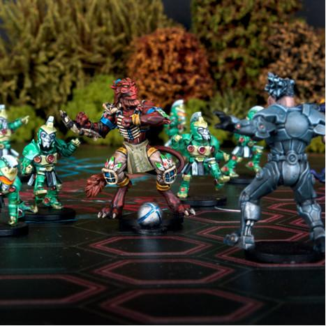 DreadBall - Galactic Tour Series: Azure Forest League