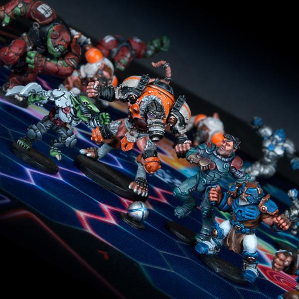 DreadBall: MegaBall Veterans [All-Stars Pack]