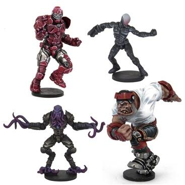 DreadBall: Mazon Corp Crowdpleasers [All-Stars Pack]