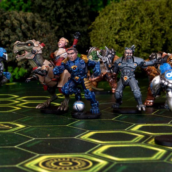 DreadBall: MantiCorp Showboaters [All-Stars Pack]