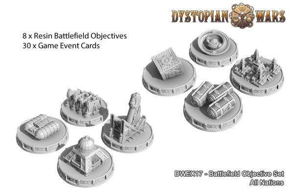 (Accessories) Battlefield Objective Set