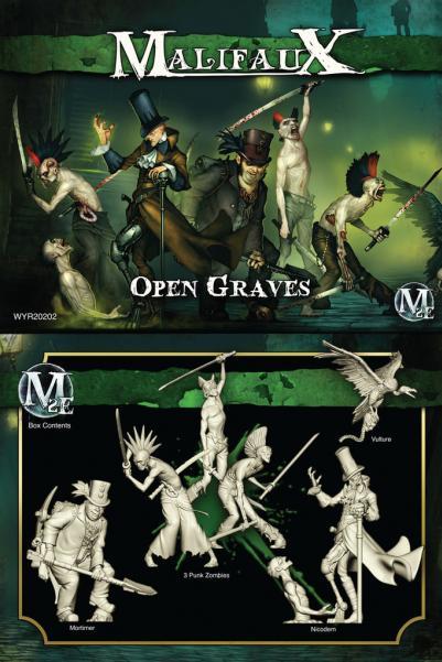 Malifaux: (The Resurrectionists) Open Graves (Nicodem Box Set)