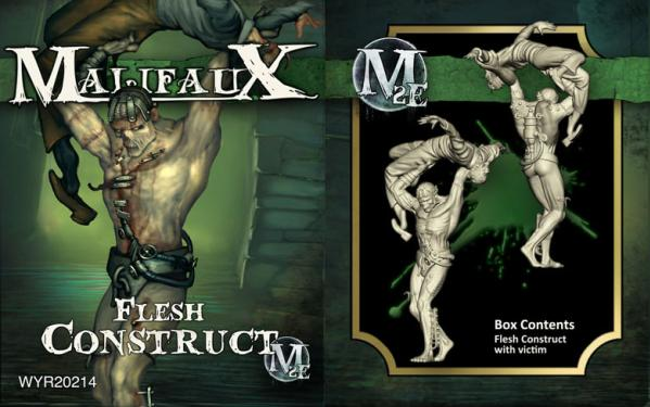 Malifaux: (The Resurrectionists) Flesh Construct (w/Victim)