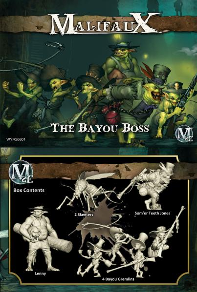 (The Gremlins) The Bayou Boss (Som'er Box Set)