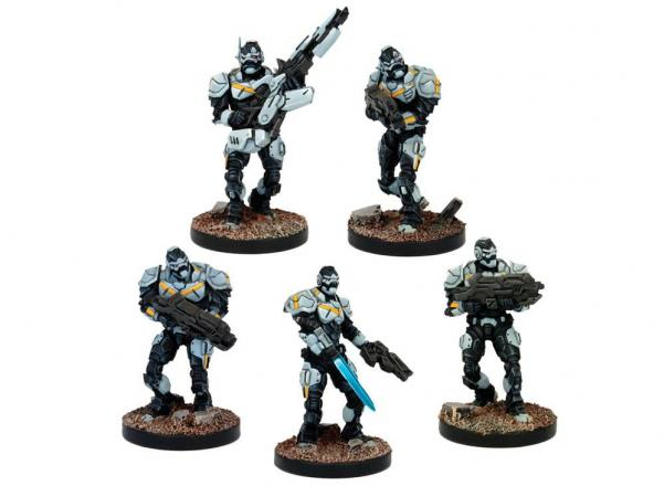 Deadzone - Enforcer: Troops Booster (5)