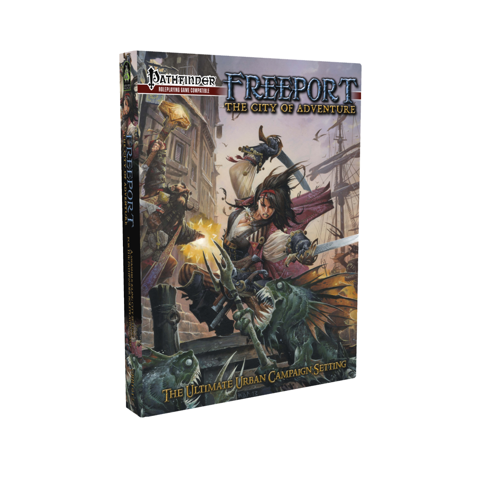Pathfinder RPG: Freeport - The City Of Adventure