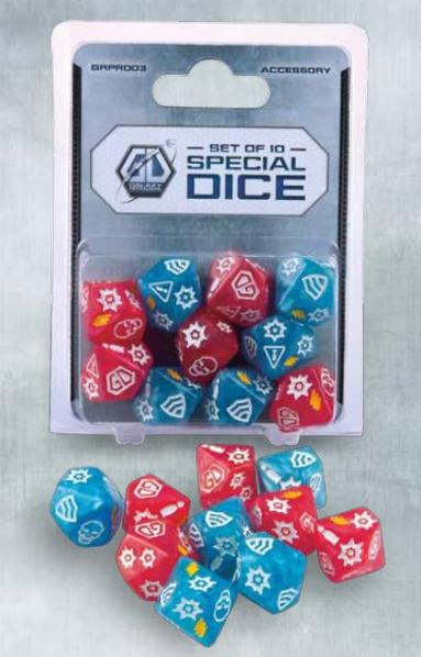 Galaxy Defenders Expansion: Special Dice