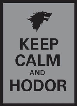 Legion: Keep Calm and Hodor Double Matte Deck Protectors (50)