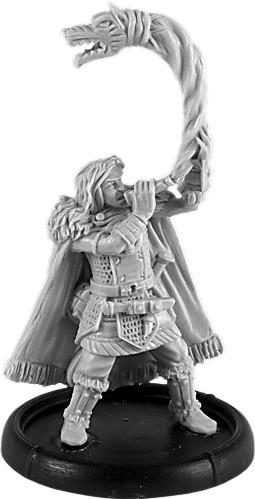 Darklands: Ceonwulf, Hornblower of Mierce (resin)