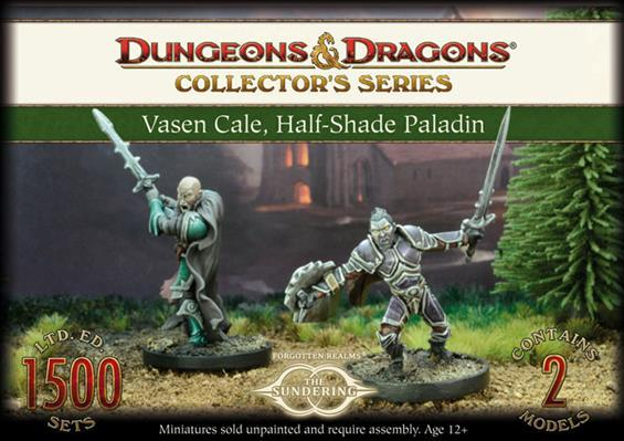 D&D Collector's Series: Vasen Cale, Half-Shade Paladin