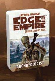 Edge of the Empire RPG: Specialization Deck - Archaeologist