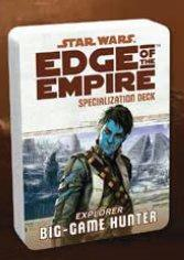Edge of the Empire RPG: Specialization Deck - Big Game Hunter