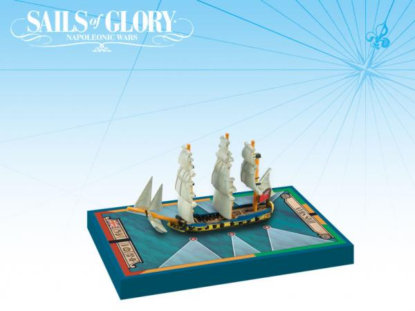 Sails of Glory - British: HMS Swan 1767/Ship-Sloop Ship Pack