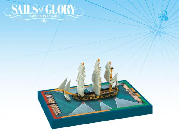 Sails of Glory - French: Alligator 1782/Ship-Sloop Ship Pack