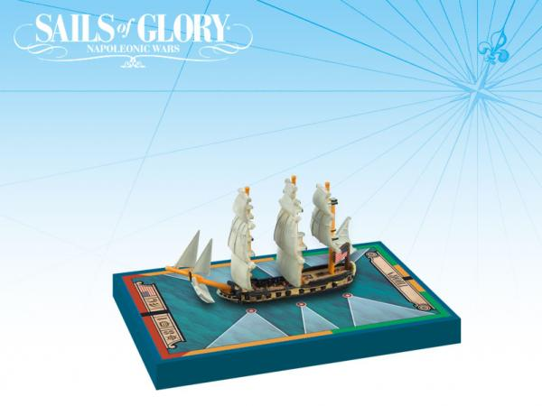 Sails of Glory - American: Thorn 1779/Ship-Sloop Ship Pack
