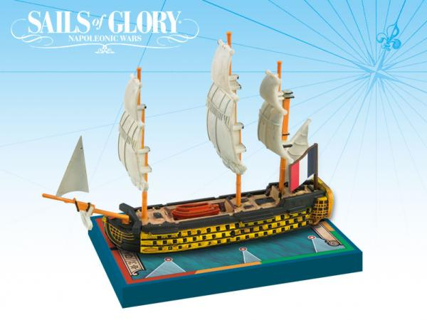 Sails of Glory - French: Orient 1791/SotL Ship Pack