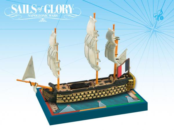 Sails of Glory - French: Imperial 1791/SotL Ship Pack