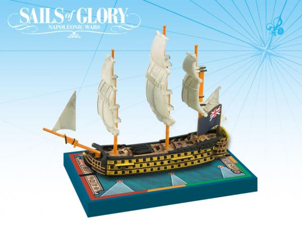Sails of Glory - British: HMS Royal Sovereign 1786/SotL Ship Pack