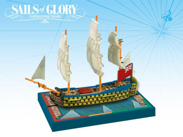 Sails of Glory - British: HMS Royal George 1788/SotL Ship Pack