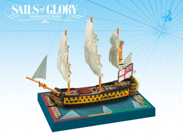 Sails of Glory - British: HMS Queen Charlotte 1790/SotL Ship Pack