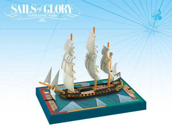 Sails of Glory - French: Carmagnole 1793/Frigate Ship Pack