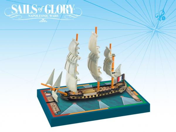 Sails of Glory - French: Proserpine 1785/Frigate Ship Pack
