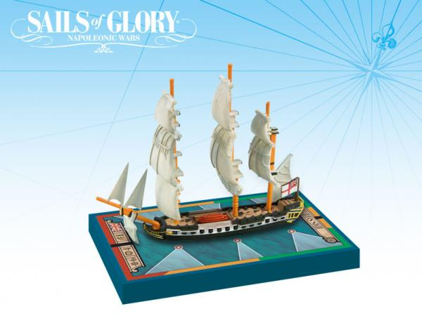 Sails of Glory - British: HMS Sybille 1794/Frigate Ship Pack