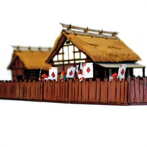 28mm Terrain: Village Wooden Fences