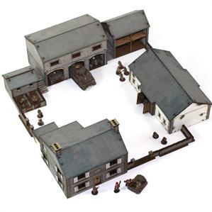 15mm Terrain: Farm Complex