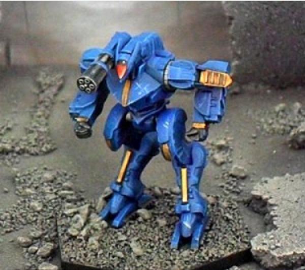 BattleTech Miniatures: Dark Age Vulpes Mech (TRO 3145)