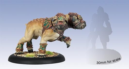 (Circle Orboros) Argus Moonhound