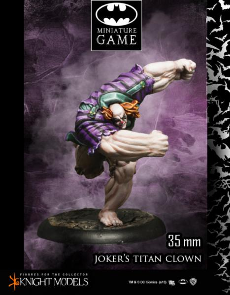 Batman Miniature Game: Joker's Titan Clown