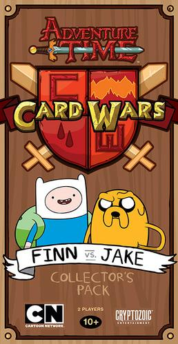 Adventure Time Card Wars - Collector's Pack: Finn vs Jake Deck