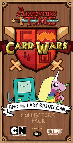 Adventure Time Card Wars: BMO vs Lady Rainicorn Deck