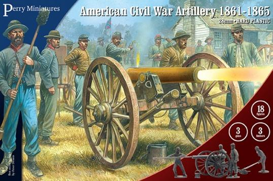 28mm American Civil War: Artillery (3)