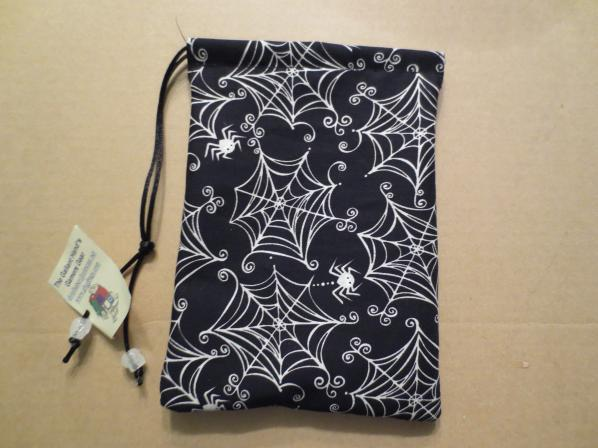 Spiders Print Cotton Bag (5'' X 7'')