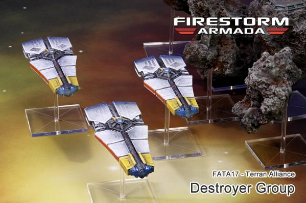 (Terran Alliance) Destroyer Group