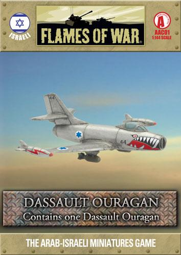 Flames of War: Dassault Ouragan