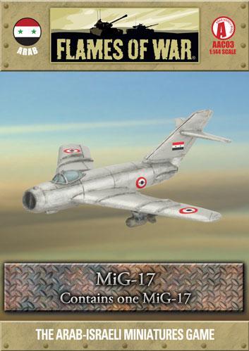 Flames of War: MiG-17