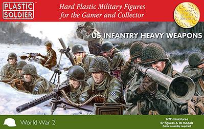 20mm WWII: 1/72nd US Infantry Heavy Weapons