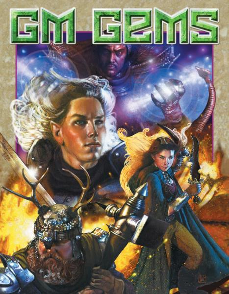 GM Gems: The System Neutral Sourcebook Gold Foil Edition (HC)