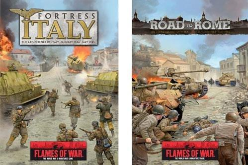 Flames Of War (WWII): Italy Compilations [2 HC Books]