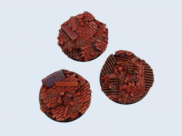 Battle Bases: Old Factory Bases, Round 50mm (2)