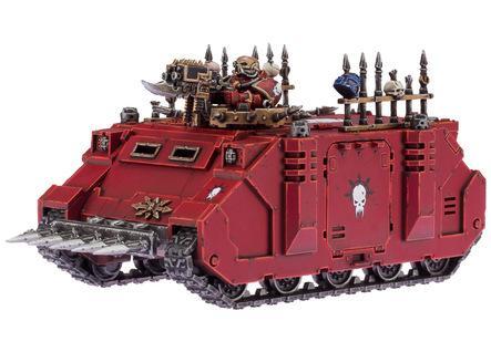 Warhammer 40K: Chaos Space Marine Rhino