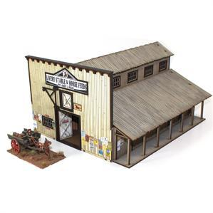 28mm Dead Mans Hand: Miller's Livery Stable