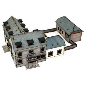 15mm Terrain: Hotel Complex